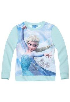 Bluza groasa, Frozen, turcoaz