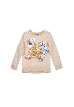 Bluza groasa, Soy Luna, crem
