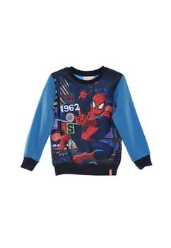 Bluza groasa Spider-Man, albastra, 1962