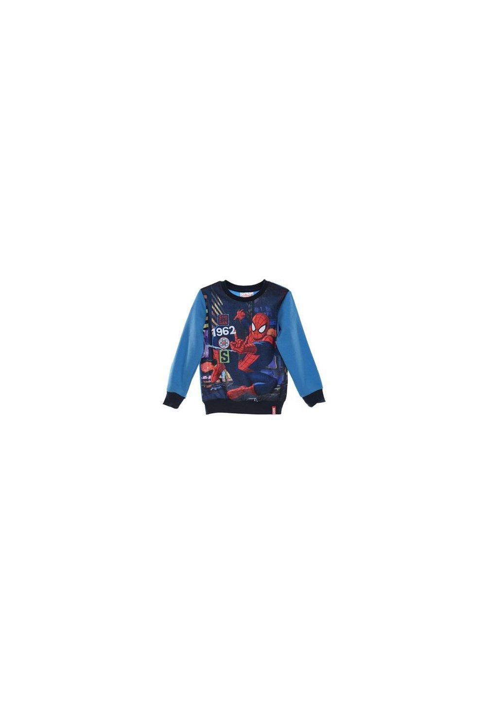 Bluza groasa Spider-Man, albastra, 1962 imagine