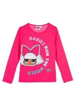 Bluza LOL, Babies run the World, roz inchis