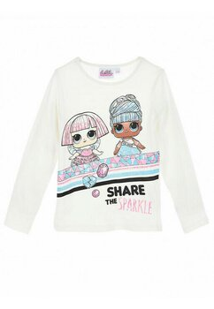 Bluza LOL, Share the Sparkle, crem