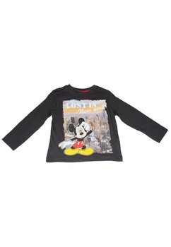 Bluza Mickey Mouse gri inchis