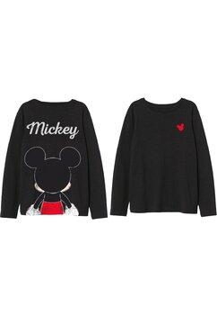 Bluza, Mickey Mouse, neagra