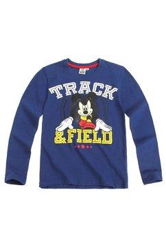 Bluza mickey Mouse, track -field, albastra