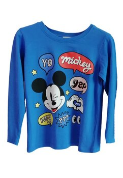 Bluza, Mickey Yep, albastra