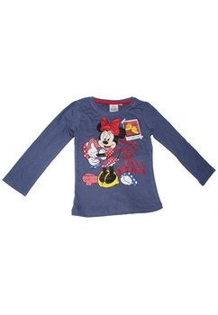 Bluza Minnie Mouse, albastra
