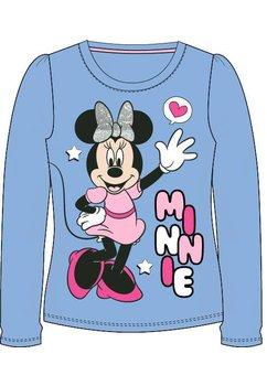 Bluza, mov, Minnie cu fundita argintie