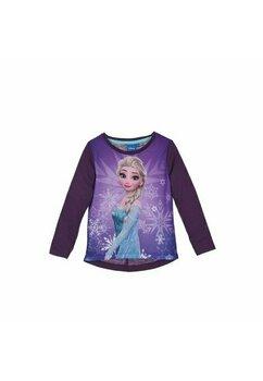 Bluza, Printesa Elsa, mov cu fulgi