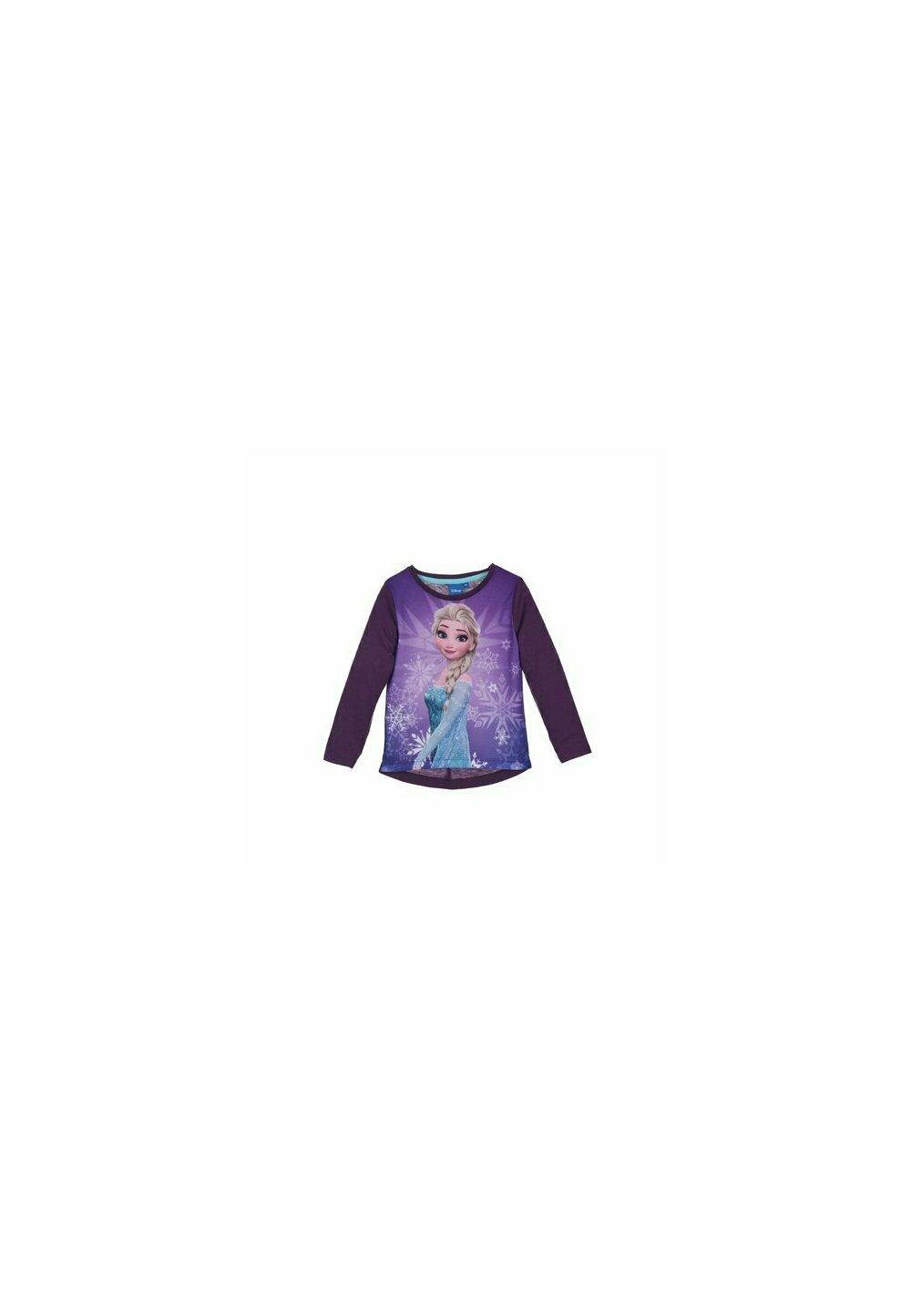 Bluza, Printesa Elsa, mov cu fulgi imagine