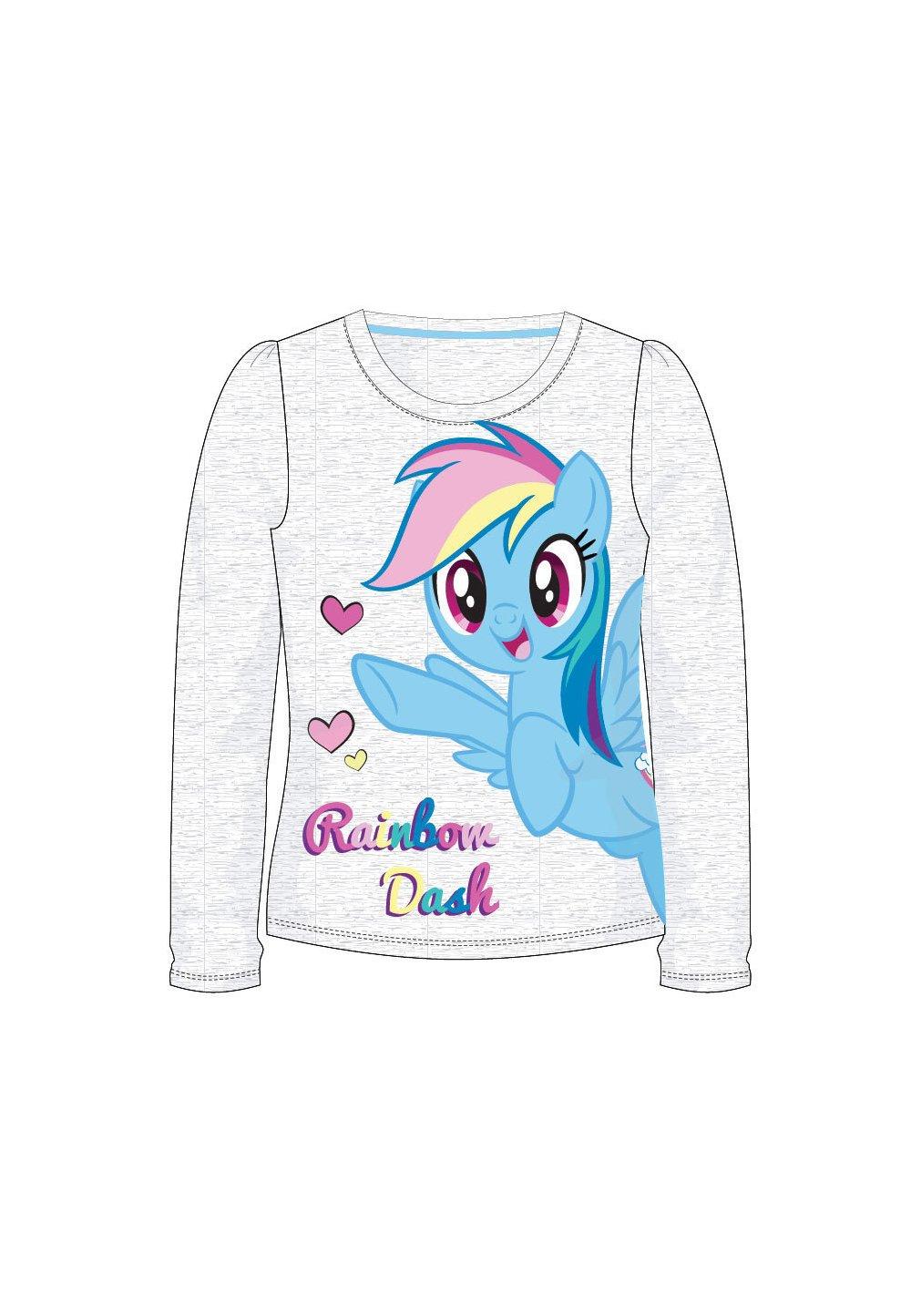 Bluza, Rainbow Dash, Gri