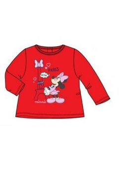 Bluza rosie, Minnie Mouse, Wow