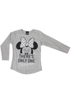 Bluza, There's only one Minnie, gri