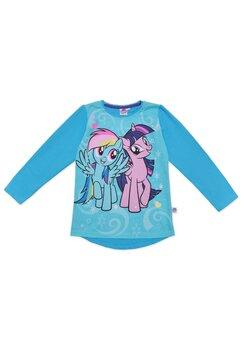 Bluza, Twilight Sparkle si Rainbow dash, albastra