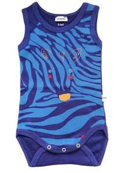 Body maieu, zebra, bluemarin