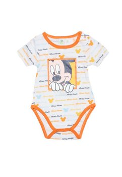 Body Mickey Mouse imprimat portocaliu