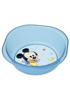 Bol plastic, baby Mickey, albastru