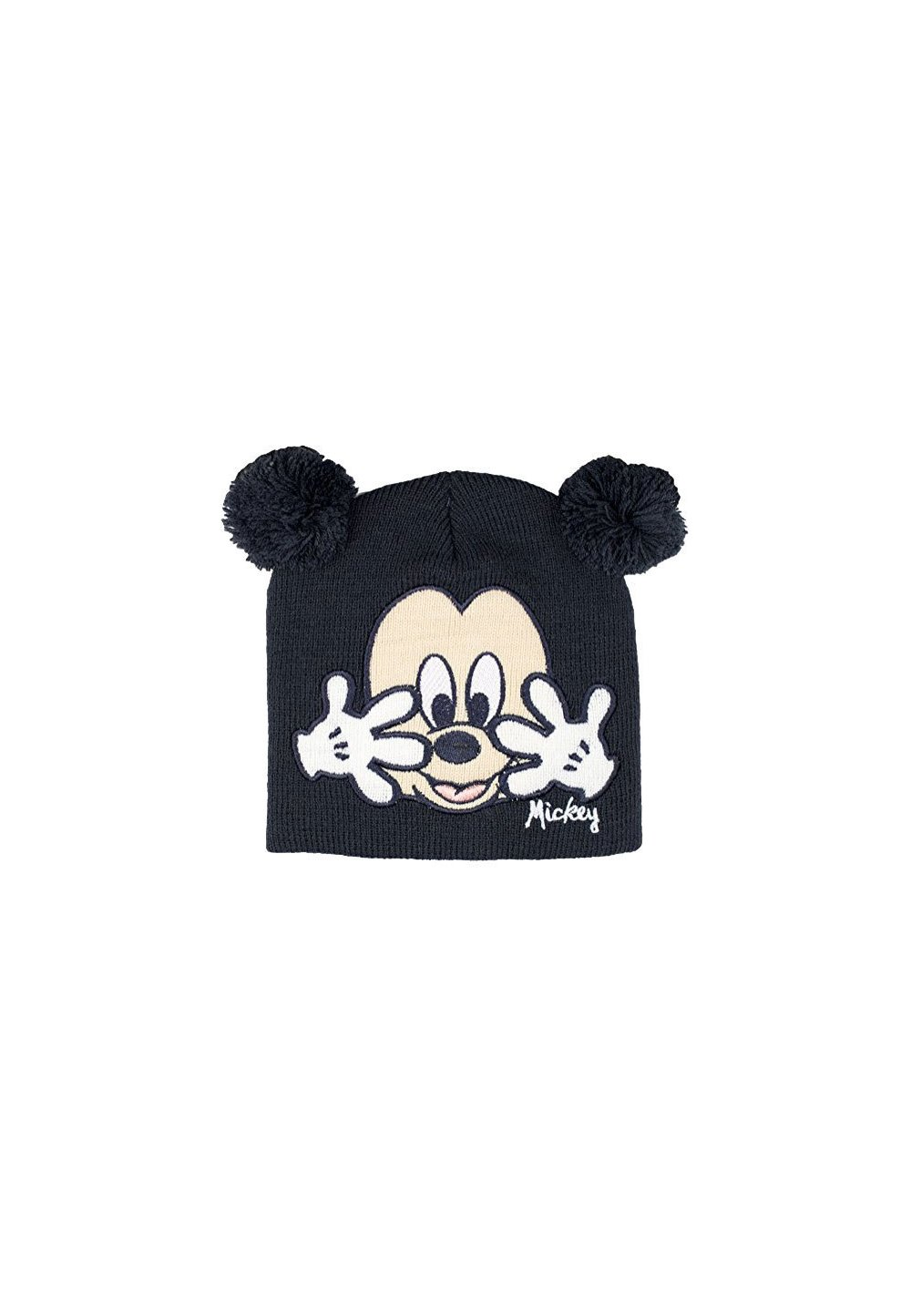 Caciula bebe, gri, Mickey Mouse imagine