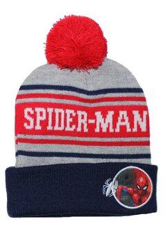 Caciula cu ciucur, Spider-Man, bluemarin cu gri