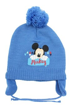 Caciula iarna Mickey Mouse, albastra