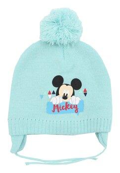 Caciula iarna Mickey Mouse, turcoaz