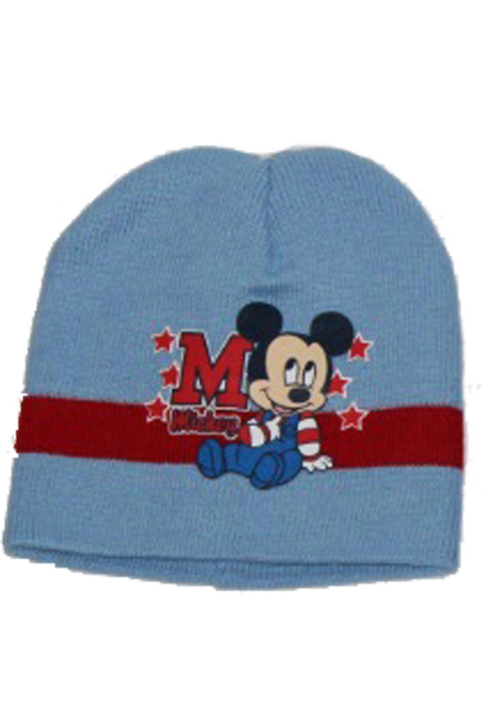 Caciula Mickey albastru deschis imagine