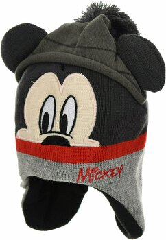 Caciula, Mickey Mouse, gri cu ciucur