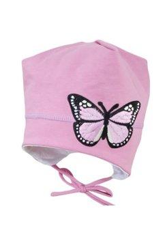 Caciula, roz deschis, fluture