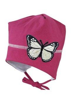 Caciula, roz inchis, fluture