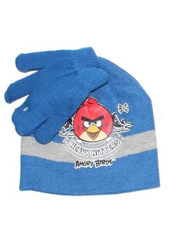 Caciula si manusi, Angry Birds, albastru