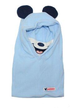 Caciula tip cagula, Mickey Mouse, albastra deschis