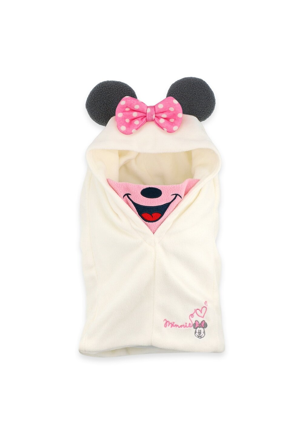 Caciula tip cagula, Minnie Mouse, ivory imagine