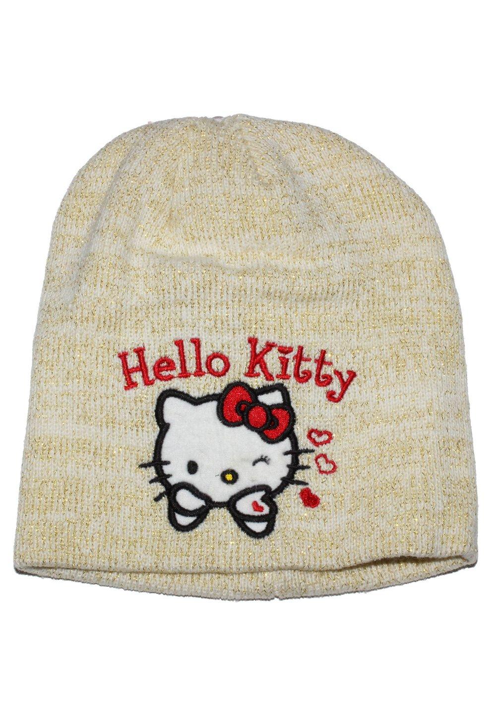 Caciula tricotata HK galbena imagine