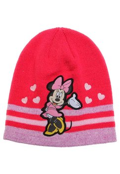 Caciula tricotata Minnie roz inchis 6644