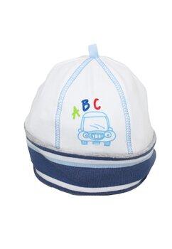 Caciulita bebe, ABC, alba cu dungi