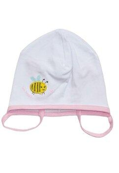 Caciulita bebe, albinuta, alba