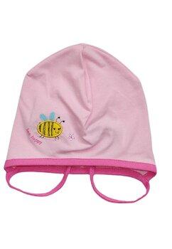 Caciulita bebe, albinuta, roz deschis