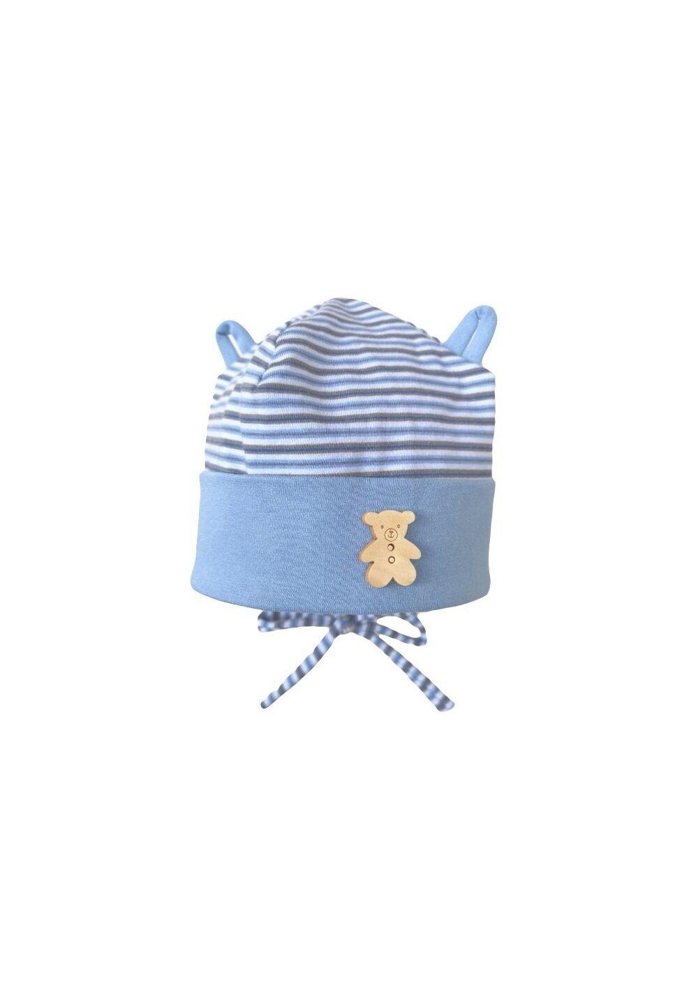 Caciulita, Tedy, albastra cu dungi imagine