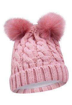 Caciulita tricotata, Lilly, roz