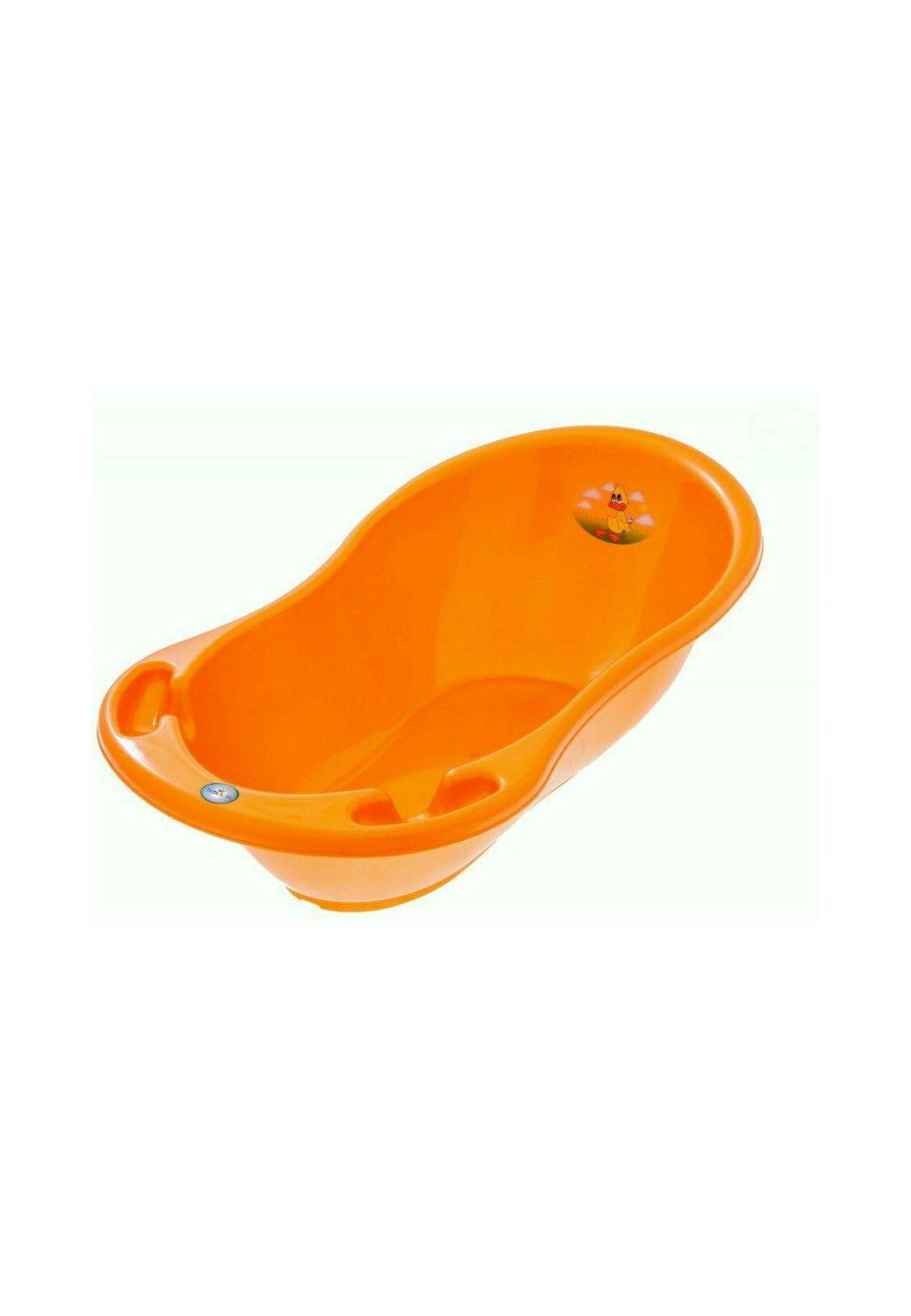 Cadita baie, Tweet tweet, portocalie, 86cm imagine