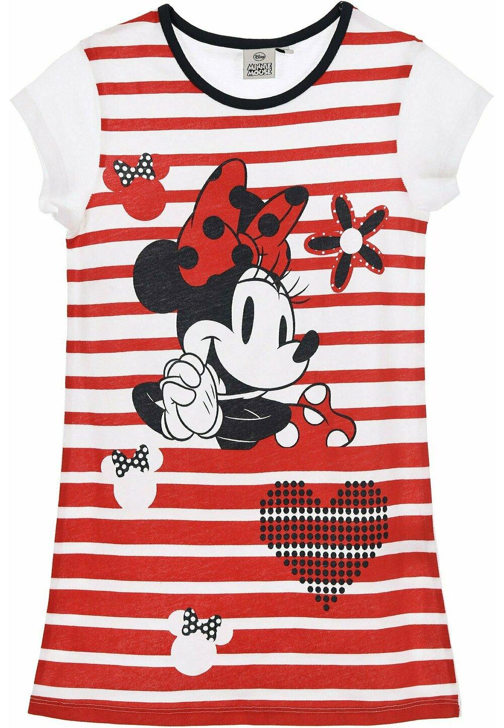 Camasa de noapte, Minnie, dungi si inimioare imagine