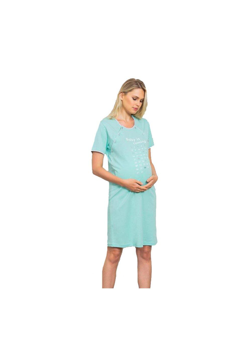 Camasa pentru alaptat, Baby is coming imagine