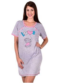 Camasa pentru alaptat, Love Teddy, roz