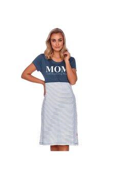 Camasa pentru alaptat, MOM, all day evrey day, bluemarin