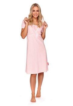 Camasa pentru alaptat, roz cu fundita alba