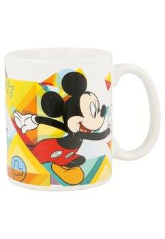 Cana ceramica, Mickey, alba, 320ml