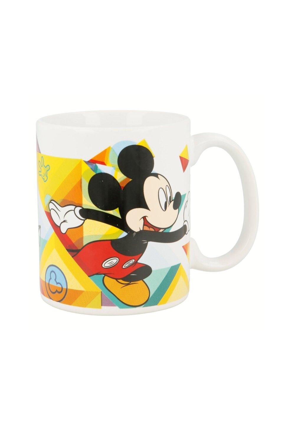 Cana ceramica, Mickey, alba, 320ml imagine