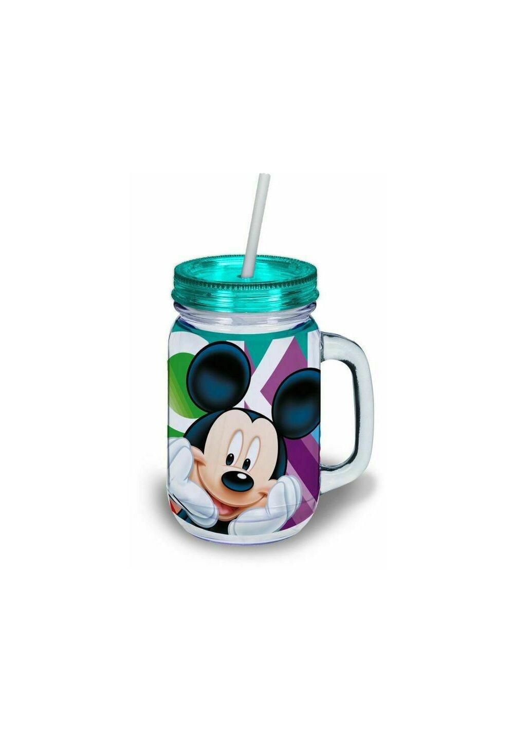 Cana cu pai, Mickey Mouse, turcoaz imagine