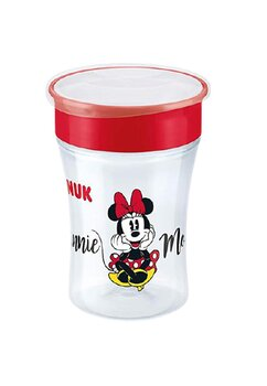 Cana de baut, Magic cup, Minnie Mouse, rosie, +8 luni, 230 ml