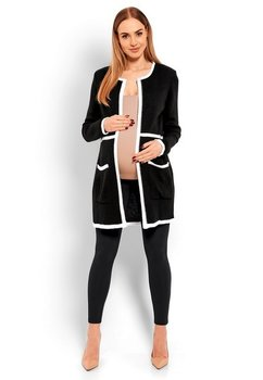 Cardigan tricotat, negru